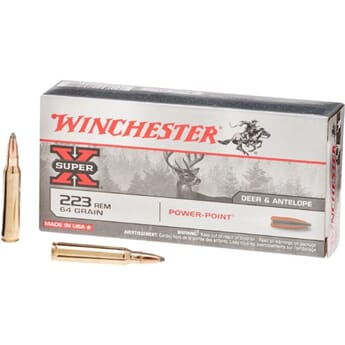 WINCHESTER 223 55grs. Power-Point
