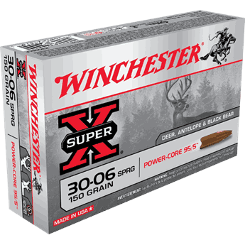 WINCHESTER 30-06 150gr. Power Core