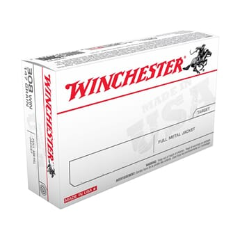 WINCHESTER 6.5x55  FMJ 140gr USA