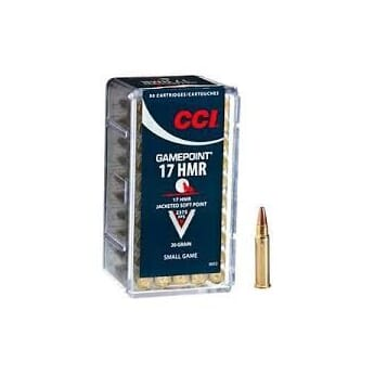 CCI 17 HMR 20 grs.Game-Point SP