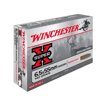 WINCHESTER 6,5x55  140g. Power-Point