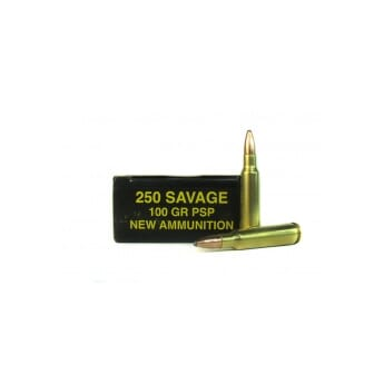 IMPERIAL 250 Savage Soft Point 100 grs.