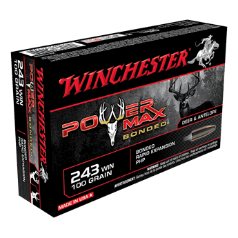 WINCHESTER 243 Win. 100gr. Power Max