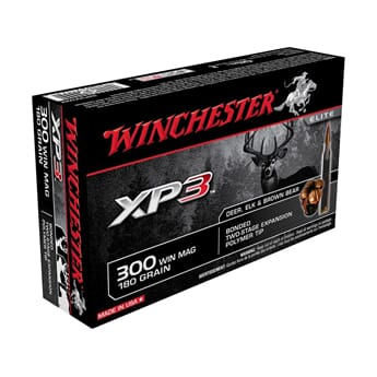 WINCHESTER 300 Win. Mag. XP3 180grs.