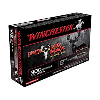 WINCHESTER 300WM 150grs. Power Max