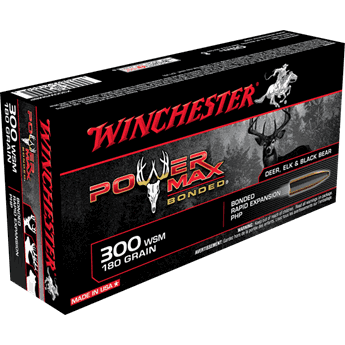 WINCHESTER 300WSM  Power Max 180grs.