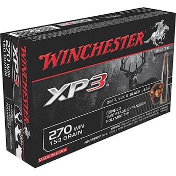 WINCHESTER 270 Win  XP3 150 grs