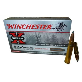 WINCHESTER 8X57JRS 200grs.. Partition