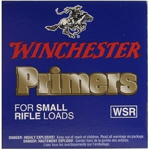 WINCHESTER Tennhetter Small Rifle #6