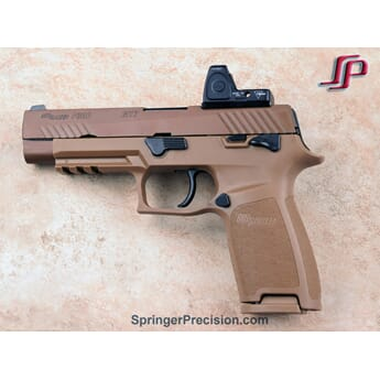 SPRINGER Sig M17/X-Compact/X-Five LEGION RMR optic mount
