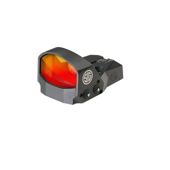 SIG ROMEO1 REFLEX SIGHT 1X30MM 6 MOA RED DOT 1.0 MOA ADJ BLA