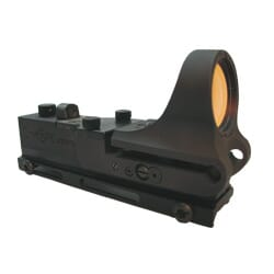 C-MORE Railway Tactical Polymer Black 4MOA STD. Switch