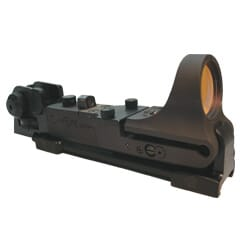 C-MORE Tactical Aluminium Black 4MOA STD. Switch