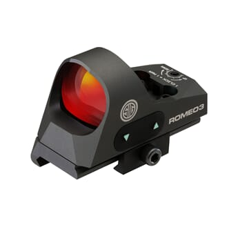 SIG ROMEO3 REFLEX SIGHT 1X25MM 3 MOA RED DOT 1.0 MOA ADJ M19