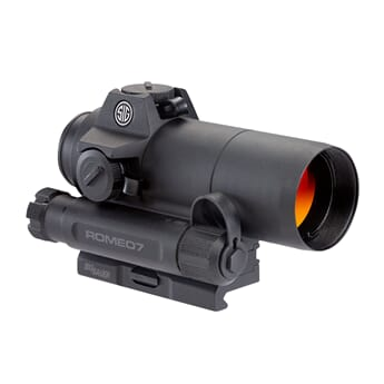 SIG ROMEO7 FULL SIZE RED DOT SIGHT 1X30MM 2 MOA RED DOT