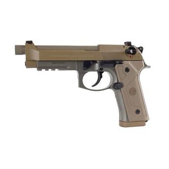 "BERETTA M9A3 9mm 4.9"" 17RD FDE 3MAGS THR"