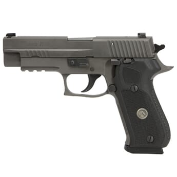 SIG P220 10MM 5IN LEGION GRAY  DA/SA X-RAY 3 BLACK G10 GRIP