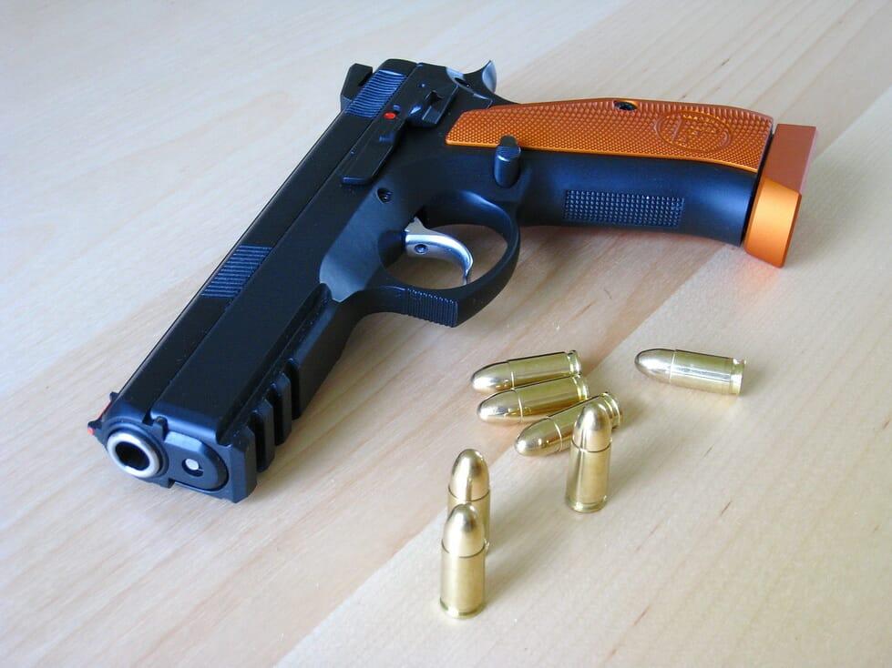 CZ 75 SP-01 Shadow Orange 9mm - Nettbutikk - Pedersens Vaabenlager AS