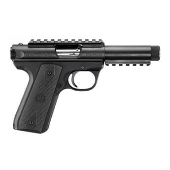 """RUGER P45GMK3PRRP m/Picatinny, gjenget 1/2""""-28 .22 LR 4,5"""""""