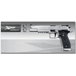 Sig Sauer X-Six Supermatch 9mm x 19