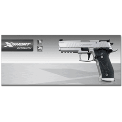 Sig Sauer X-Short Supermatch 9mm x 19