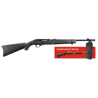 RUGER 10/22-TDT Take-Down, m/flammedemper .22 LR 16,62""
