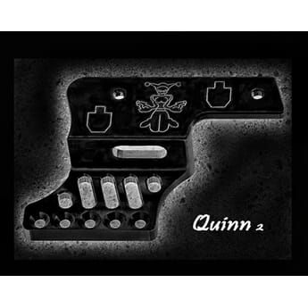 QUINN 90 degree mount 1911 Black