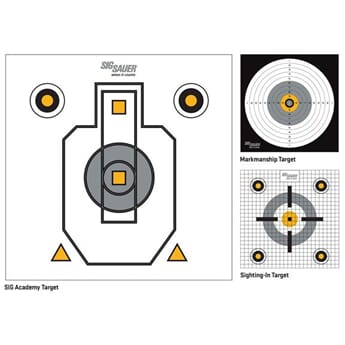 Sig Sauer ASP Target Paper for Pellet Trap (50-pk)